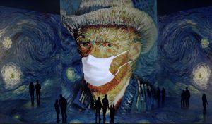 Van Gogh in Mask